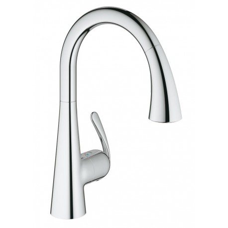Grifo extraible cocina trendy china grifo extraible de la - Grifo grohe cocina extraible ...